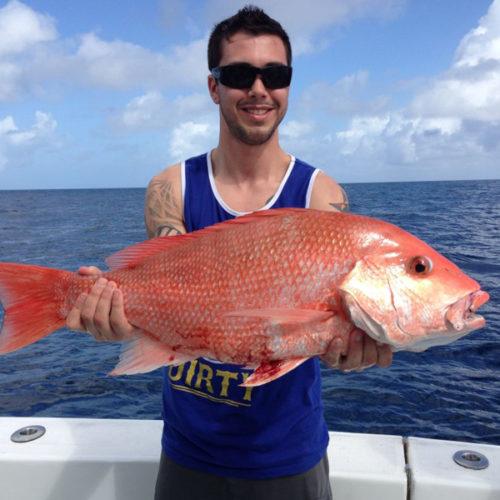 Yachts-Riviera-Maya-Deep-Sea-Fishing-Red-Snapper