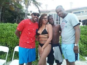 Birthday Celebration on the Island of Nassau